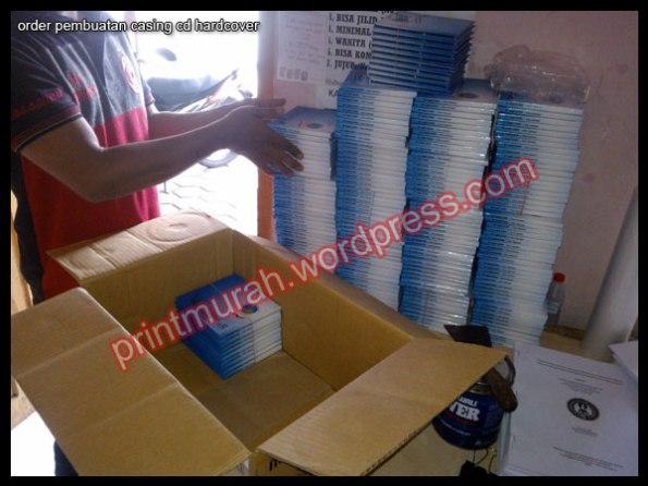 Menerima pesanan casing CD hard Cover full warna